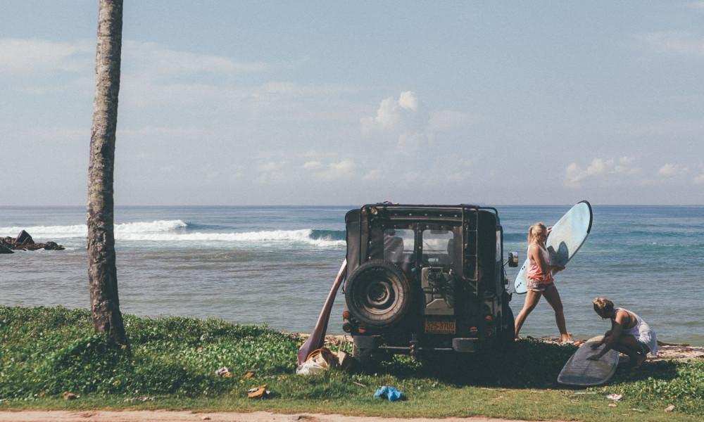 Off road surf mission